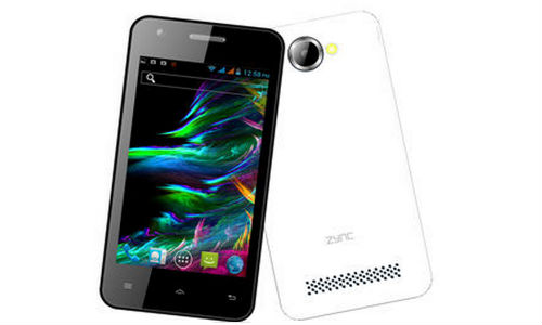 Zync Cloud Z401 Android Smartphone Launched at Rs 4,499