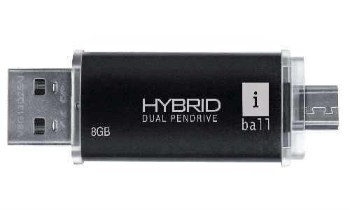 iBall Hybrid Dual Connecting Pendrive Launched in India at Rs 599