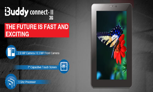Intex i-Buddy Connect 2 3G: 7 inch Voice Calling Tablet Launched