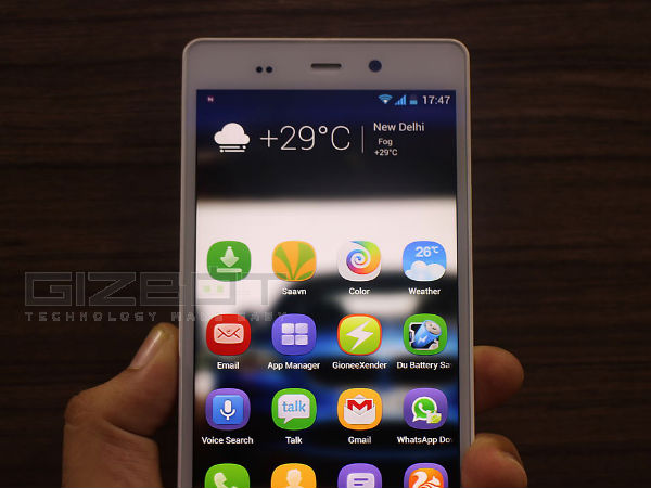 Gionee Elife E6 Hands On: First Look