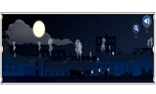 Claude Debussy's Clair de lune Theme is Today's Google Doodle