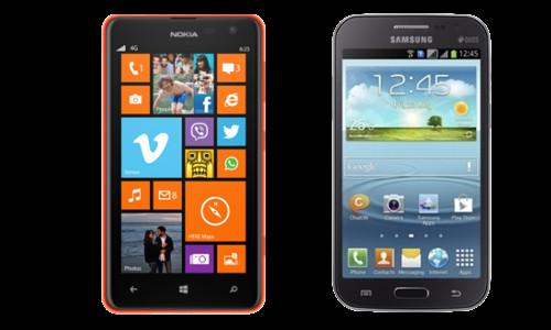Nokia Lumia 625 vs Samsung Galaxy Grand Quattro: What's right for you?