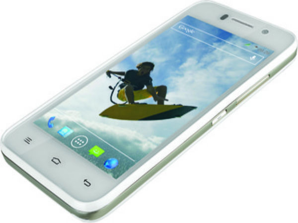 Dual SIM supported Quad Core Smartphone