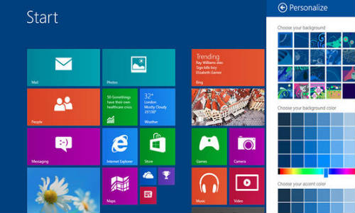 Microsoft Windows 8.1 Ready for October 17 Debut