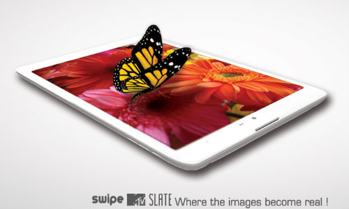 Swipe MTV Slate 7 Inch Tablet Launched with Quad Core Processor