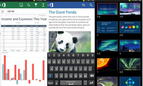 Microsoft Launches Office 365 Productivity Suit App For Android Device