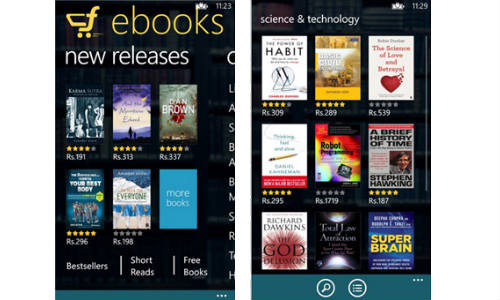 Flipkart eBook App Now Pushed to iOS and Windows Phone 8 Device