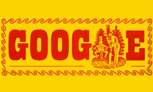 Google Doodle Celebrates John Wisden's 187th Birthday