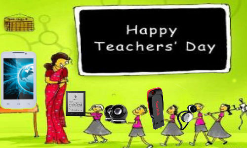 Teacher's Day Special: Want to Say Thanks To Teacher? Consider Tech!
