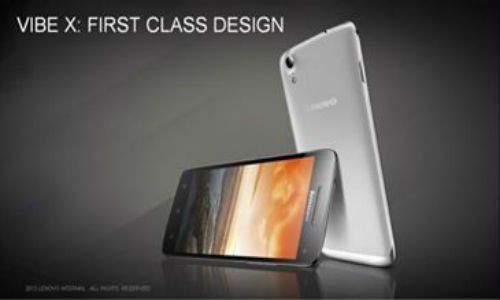 Super Thin Lenovo Vibe X Announced with 5 Inch Full HD Display