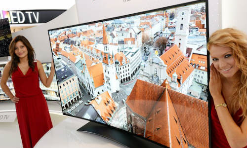LG's Largest 77 inch Ultra HD Curved OLED TV Launched At IFA 2013
