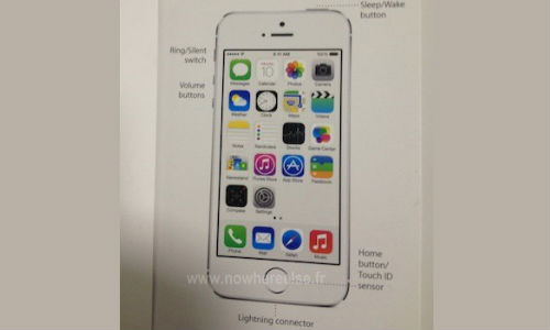 Apple iPhone 5S Image Leak Shows Refreshed Home Button