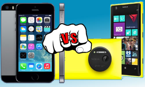 iPhone 5S vs Lumia 1020 : Flagship Smartphone Slamdown