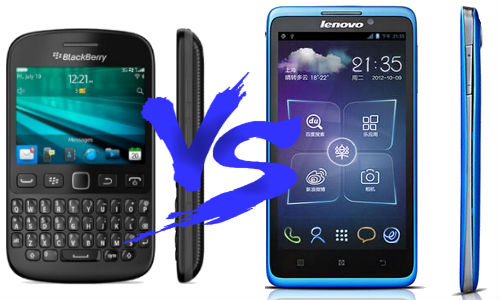 Blackberry 9720 vs Lenovo S890: Is Blackberry Still In The Past?
