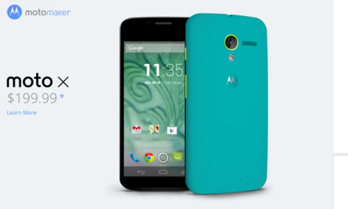 Motorola To Launch A New made-to-order Tablet Through Moto Maker?