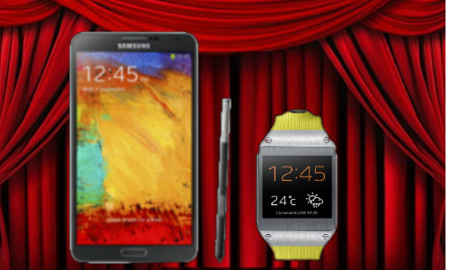 Exclusive: Samsung Galaxy Note 3 And Galaxy Gear India Launch Event
