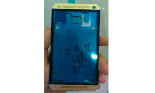 HTC One Gold Colored Chassis Gets Leaked