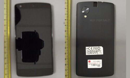 LG Nexus 5 FCC Filling Pictures Surface Online: Full Handset Revealed