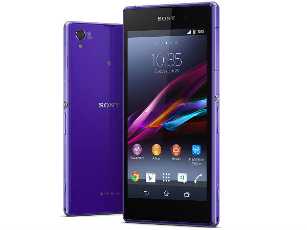 Xperia Z1 features 20.7MP Camera