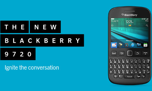 BlackBerry 9720 Now Up For Pre-Orders At Rs 15,990 In India