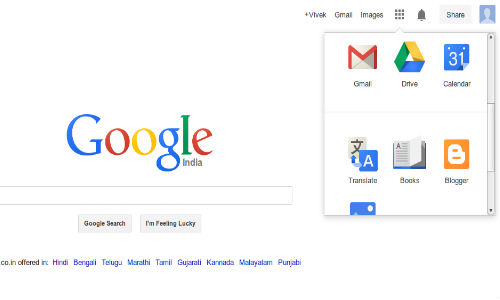 New Google Logo and Redesigned Navigation Bar Activated in India