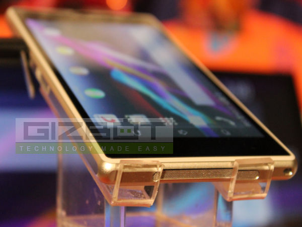 Sony Xperia Z1 Hands On Review: First look