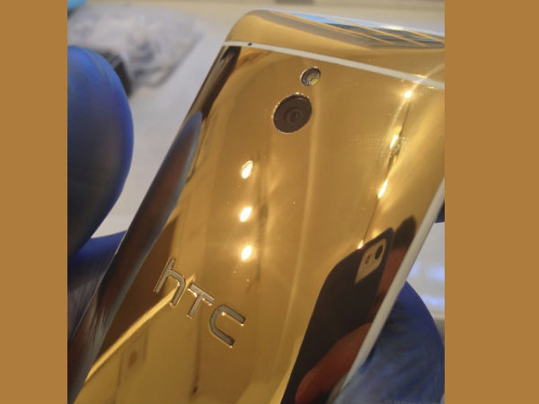 HTC One Mini Gold Photo
