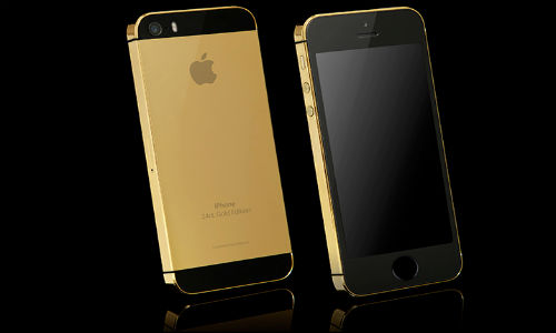 iPhone 5S: High End 24 Carat Gold Variant Now Available
