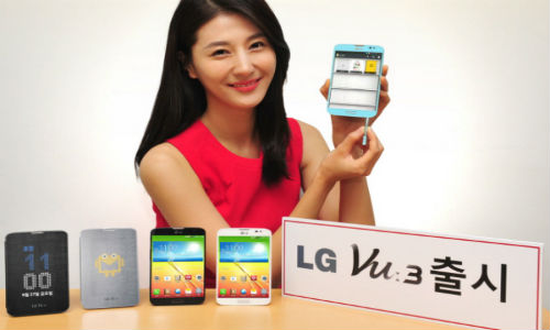 LG Vu 3: Samsung Galaxy Note 3 Competitor Unveiled