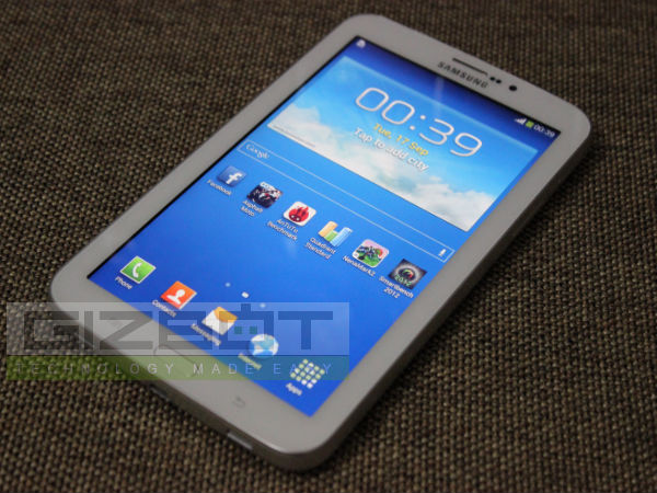 Samsung Galaxy Tab 3 T211 Hands on Review