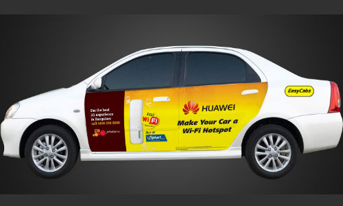 Huawei and Tata Docomo Join Hands to Offer Free Wi-Fi in 100 EasyCabs