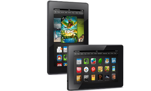 Amazon New Kindle Fire HD, HDX 7 and HDX 8.9 Tablets Announced