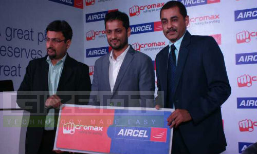 Micromax and Aircel Tie-Up for Offers on Smartphones and 3G Dongles