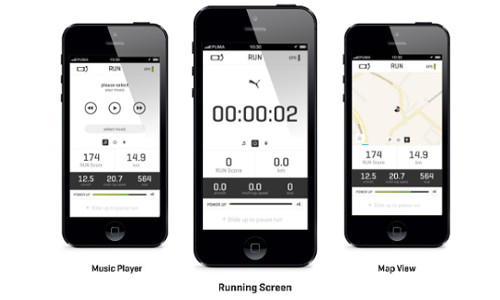 PUMATRAC : Puma's New iPhone App For Runners