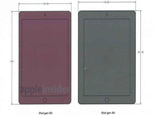 iPad 5 to be thinner than iPhone 5S