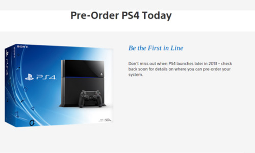 Sony Playstation 4 India Pre-Orders To Open Up Soon