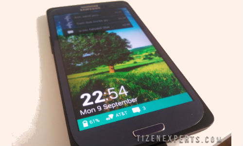 Tizen 3.0 Spotted Running on Samsung Galaxy S3?