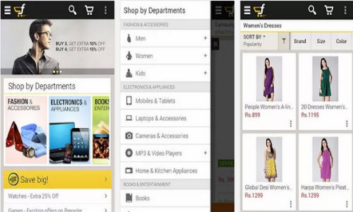 FlipKart App for Android Goes Live On Google Play Store in India