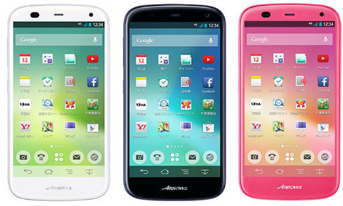 Fujitsu Arrows A 301F: Phablet With Incredible Battery