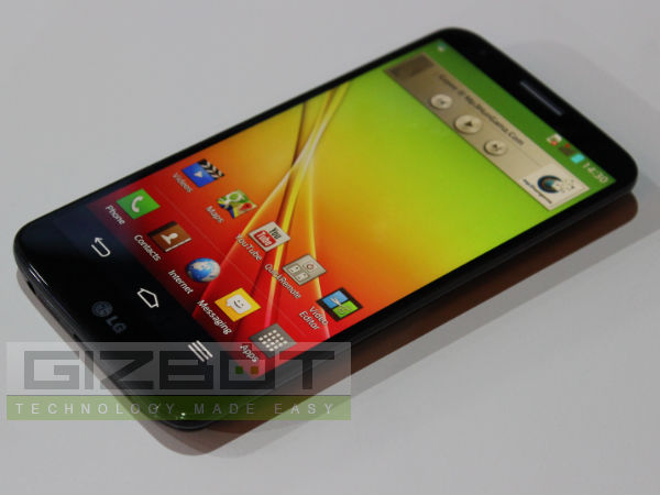 LG G2 Hands On Review: First Look