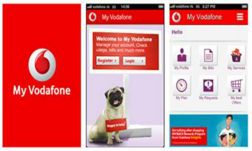 Vodafone India brings My Vodafone App for Android, iOS And BlackBerry