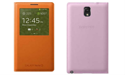 S View and Flip Wallet Cover: Samsung Galaxy Note 3 Accessories' Price