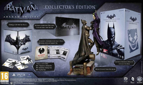 Batman: Arkham Origins Collector's Edition Coming Soon in India