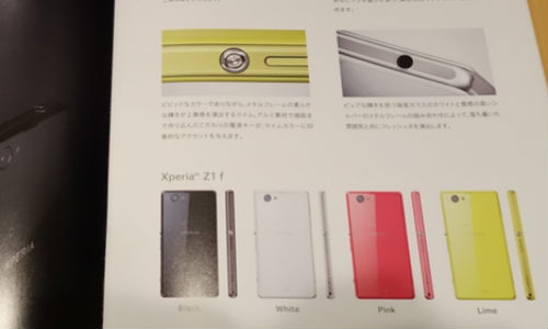 Sony Xperia Z1 mini f: 20.7MP Super Camera Phone Tipped for October 10