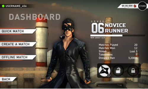 Krrish 3: Gaming App Launched For Windows Smartphones, Tablets and PCs