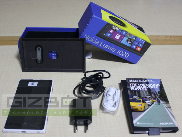 Nokia Lumia 1020 Unboxing And First Impression