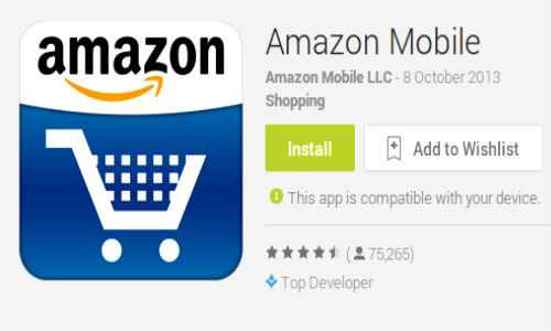Amazon Launches Android App For Indian Shoppers
