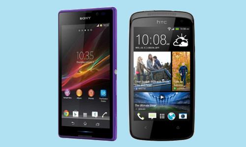 HTC Desire 500 vs Sony Xperia C: New Mid-Range Warriors Fight in India