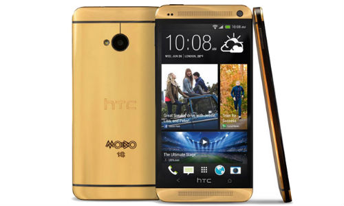HTC to Introduce 5 Gold One Editions At Rs 2.7 Lakh Each