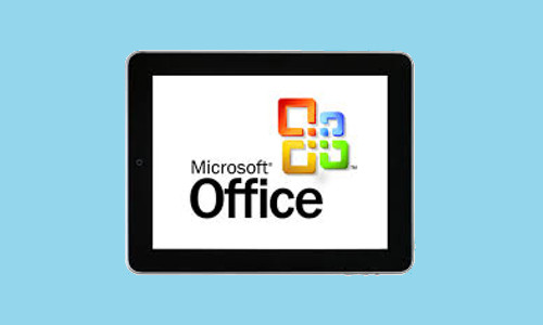 Microsoft Is Working On Touch Optimized Version Of Office